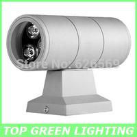 Outdoor LED Wall Light 6W AC 110V 220V 230V 240V Waterproof Up and Down LED Wall Lamp Outdoor LED Wall Lighting 6W IP65