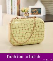 Freeship New 2014 stone pattern fashion girls evening bag banquet bag clutch / women cute chain shoulder bag Messenger bag