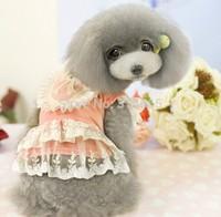 The New Summer Pet Clothes Embroidered Princess Dress Pet Skirt Size XXL