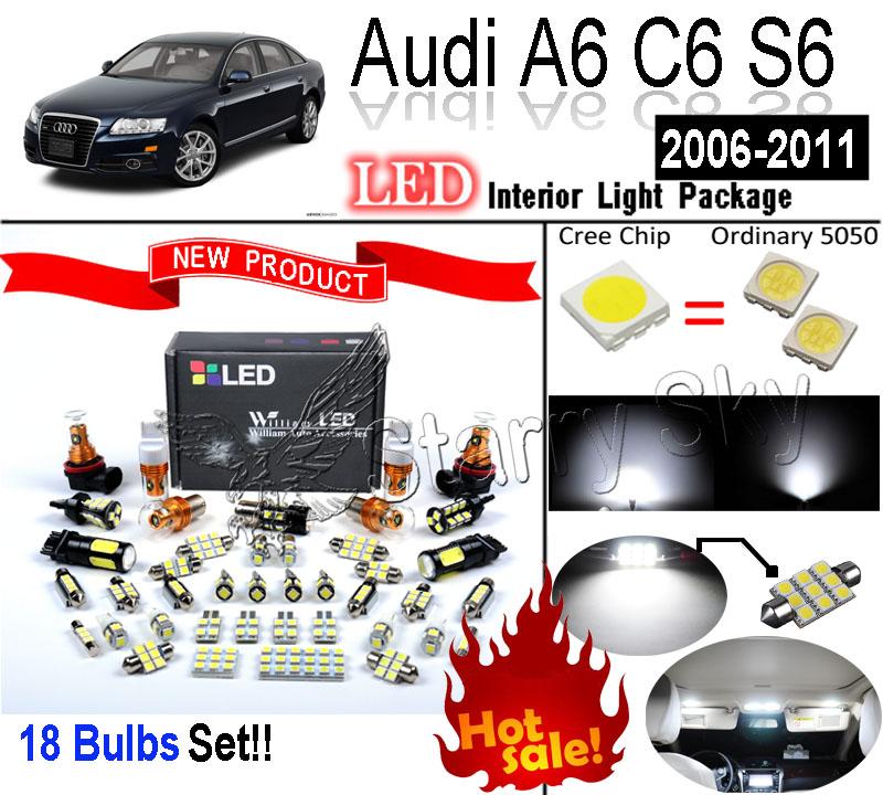 Лампа для чтения William LED 18 SMD Audi C6 A6 S6 radiator cooling fan relay control module for audi a6 c6 s6 4f0959501g 4f0959501c