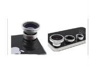 3 In 1 Fisheye Lens,Wide Angle Lens,Macro Lens Photo Kit Set For LG G2 NEXUS 4  E970
