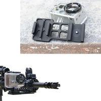 Camera Picatinny Rail Mount Side Rail Mount For GoPro Hero2 Hero3 hero 3 2 G78