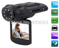 """Free shiping F8000 Car DVR Full HD real 1080 30fps 2.0"""" LCD CMOS Ambarella 5.0MP Car Camera Camcorder 120 Degree HDMI Russian"""