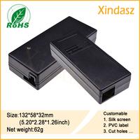 (10pcs/Lot)132*58*32mm plastic pcb enclosures Industrial Control Enclosure Plastic Equipment Case
