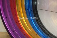 406 20'' 32 Hole Folding Bikes BMX Bicycles Disc Brake Wheel Wheelset Double layer Rims+ Free shipping