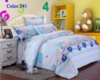 HOT Cartoon Bear Bedding set Baby Bedding sets Wholesale Fashion Bedclothes Queen Size Bedding bedspread bed set home textile
