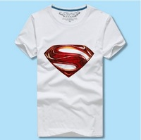 1pce wholesale Free shipping 100% Cotton O-neck  Men's Short T-shirts Tops Summer 2014 New 4 colors Size S-XXXXL