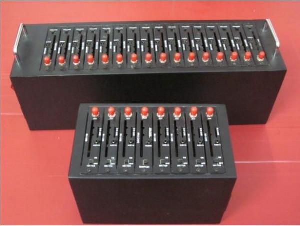 16 sim card modem pool/wavecom gsm module 16 bulk sms gsm modem wavecom Q24plus gsm gprs 16 ports modem pool(China (Mainland))
