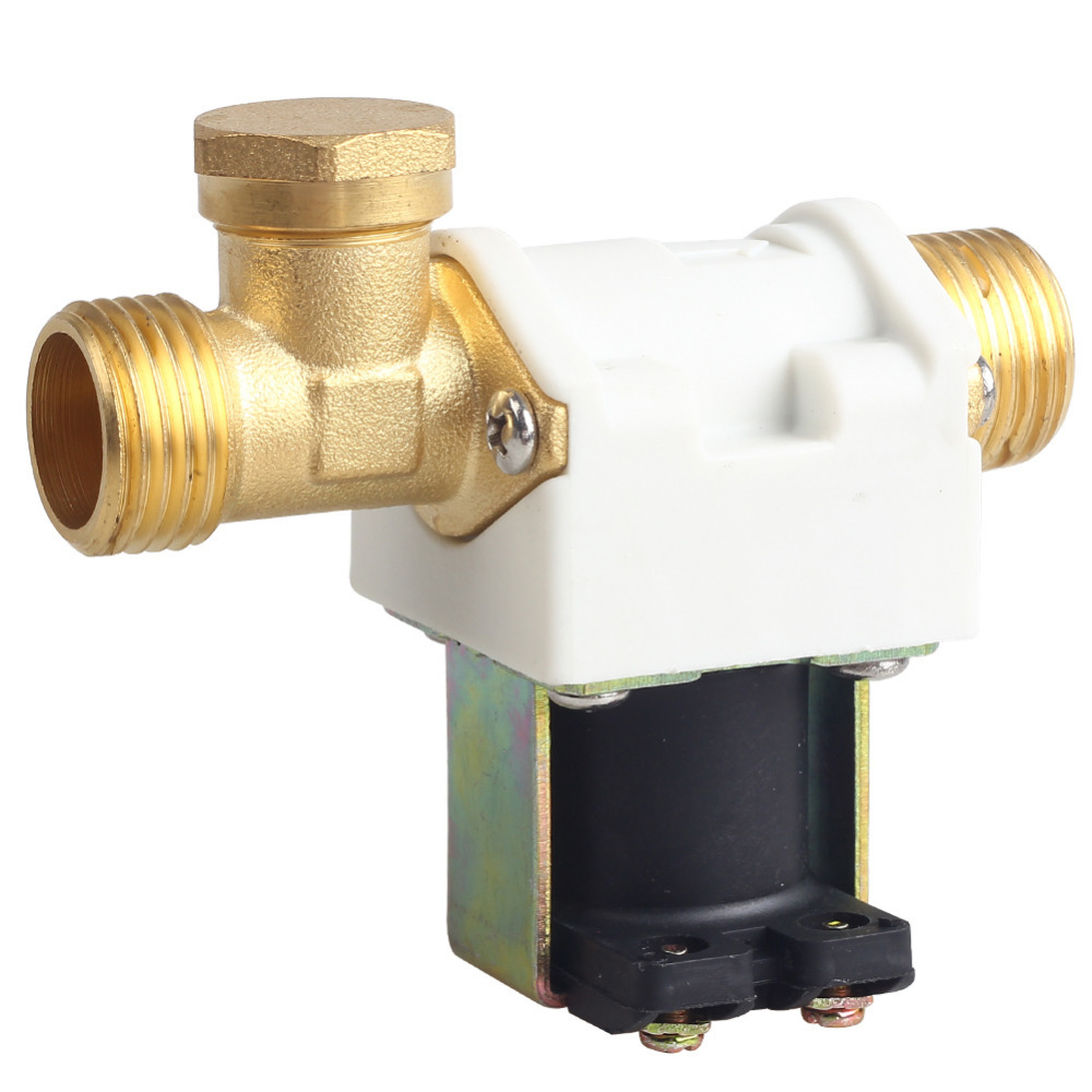 "N/C 12V DC 1/2"" Electric Solenoid Valve For Water Air(China (Mainland))"