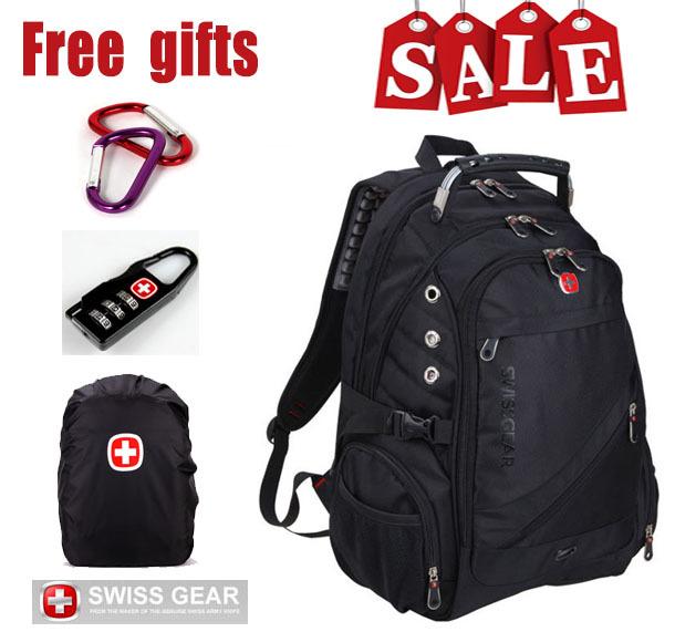 Brand swiss army knife laptop backpacks men swissgear notebook computer backpacks wenger travel hiking backpacks school bag(China (Mainland))
