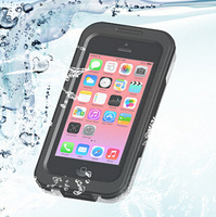 2014 New Brand Waterproof 6 Meters Underwater Diving Swimming Climbing Hard Cases Cover For iphone 4 4G 4S 5 5G 5S 5C Defender
