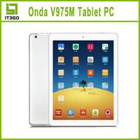 ONDA V975M 9.7 inch Ultra Slim Tablet PC Android 4.3 Quad Core Amlogic A9 Retina 2GB RAM 32GB ROM Bluetooth Wifi Dual Camera