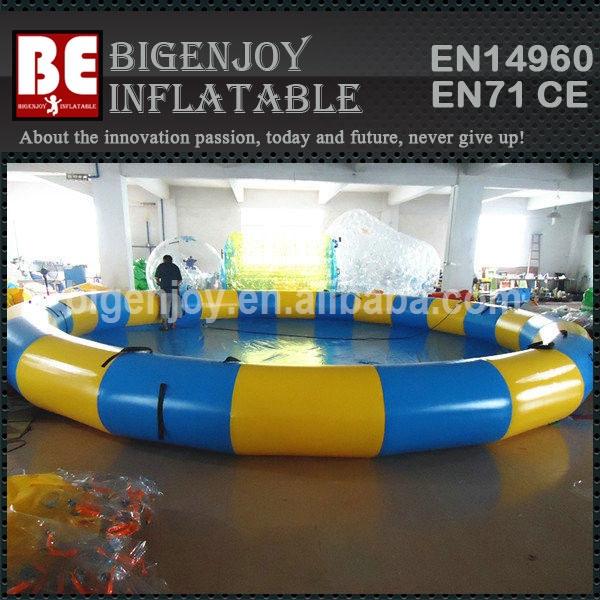 Cor grande esporte rodada piscina inflável para adultos e crianças(China (Mainland))