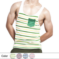 Fashion and Thin Summer Comfortable Men Tank Tops Cotton Loose Top Vest Free shipping