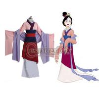 Free Shipping Custom-made Hua Mulan Dress Princess Dress Movie Cosplay Costume