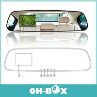 DV400 Rearview Mirror DVR + H.264 +140 Degree Wide Angle+2.7 inch LCD Screen+Motion Detection+G-sensorFree Shipping