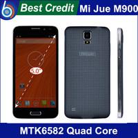 "New original MIJUE M900 Android 4.4 OS MTK6582 Quad Core 1.3GHz 5.0""QHD 1GB RAM 4GB ROM 3G mobile phone"
