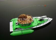 5 7 ore trasporto libero t10 mini rc bait peschereccio 200 m pesce telecomando barca da pesca cercatore verde e rosso(China (Mainland))