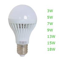 10Pcs/lot LED Bulb 3w 5w 7w 9w 12w Bulb Lamp,LED Spotlight, High Brightness E27 led energy saving bulb led Lamps,Free shipping