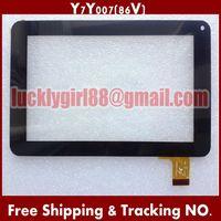 20 pcs/Lot 7'' 186X111 mm Prestigio Touch Screen Digitizer for Freelander a13 PH20W Y7Y007 86VS ZHC-0598 ZHC-0598 H-CTP070-015