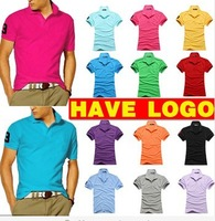 New Fashion Polo Shirt Men 2014 Summer Shirts For Mens Casual Shirts Men's brand Polos Shirt Man Sport shirt Polos 10 colors