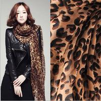 Free Shipping!2014 Star models Europe Fashion  Popular  Wild  Punk  Personality  Leopard  Scarf Summer Sunscreen shawl for women