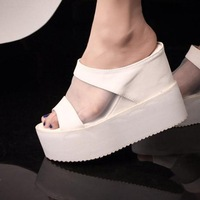 Kovll fashoin summer wedges flip flops shoes women/ladies/girls platform open toe sandals pumps free shipping T2647