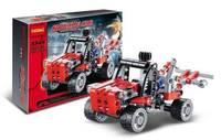 Decool Building Blocks Rescue Car No.3344 Sets 103pcs Educational Jigsaw DIY Bricks Toys for Children Gift for Kids