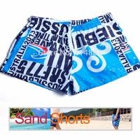 Free Shipping!Mens Board Shorts/Men Beachwear/Sexy Beach Pants/mens beach shorts sports casual short Blue