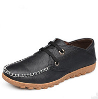 The new men's leather lace dress business casual shoes everyday casual men's shoes