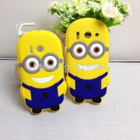 Cartoon Despicable Me 2 3D Minions Cute Soft Case Cover For Huawei Ascend Y300 G510 U8833 T8833 U8951