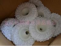 Free shipping flower Bouquet Material Torus Edge Lace Wedding Supplies Bride Holding Hands Tori Yarn Yarn Side Edge 10pcs/lot