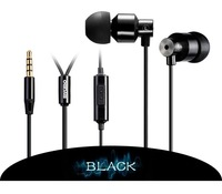 MYKIMO MK200 3.5mm In-ear Earphones Super Clear Bass Metal Headphone Noise isolating Earbud for  MP3  Phone  5s 4S
