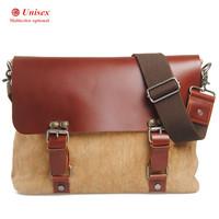 men's messenger bags linen genuine leather vintage summer bag woman