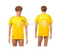 2014  Cote d'lvoire home thai world cup soccer jerseys,soccer uniform,trainning jerseys embroidery