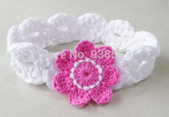 Free Crochet Patterns For Baby Headbands With Flower ~ Dancox for .