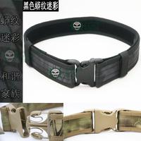 Tactical Belt Multi-function belt 1000 d wear-resisting outdoor belt camouflage