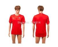 2014  Switzerland home thai world cup soccer jerseys,soccer uniform,trainning jerseys embroidery