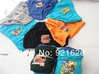 2014 New Arrival Boys Underwear Guchi Cute Cartoon Mixed Designs Boy's Briefs Children Underwear Wholesale Kid's Sizes Available