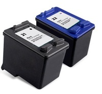 HongKong Free Shipping, 2PK C9351A C9352A Ink Cartridge for HP 21XL 21 22XL 22 Printer Cartridge for HP F380 F2100 F2280 F4100
