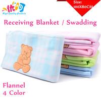 New Polar Fleece Newborn Baby Blanket Product Infant Hooded Bath Towel Sleeping Bags Boy&Girl Carriage 100X80cm Drop Shipping