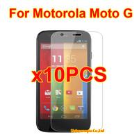10PCS XT1032 Clear LCD Screen Protector Guard Cover Film For Motorola Moto G DVX XT1032 XT1028 XT1031 XT1033 Phone Film