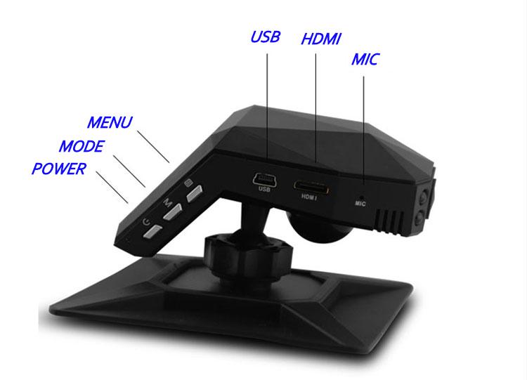 Автомобильный видеорегистратор Lingdu LD100 /hd 1080p 96650 DVR