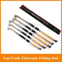 Free shipping 8 segments 3.6M GW Apache Navigators carbon spinning telescopic fishing rods sea rod fishing pole 2.4 2.7 3.0 3.6