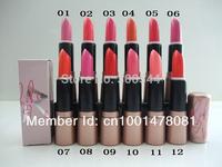 FREE SHIPPING 2014 MAKEUP Newest RIRI lipstick English name 12PCS