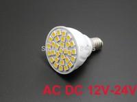 5X E14 3W LED AC DC 12V 24V 30 SMD 5050 WARM WHITE 3000K 6000K Spotlight bulb lamp