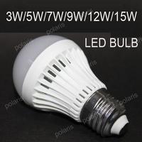 10pcs/lot Led Lamp E27 LED Bulb High brightness 3W 5W 7W 9W 220V 240V Warm White Cool White Energy Saving LedLight FREE SHIPPING