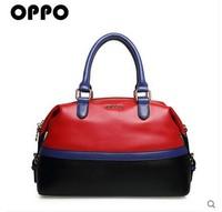 OPPO brand women's PU Leather handbag fashion brief fashion OL messenger  bag casual handbag 2014 11148