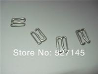 "300Pcs/Lot Nickle Plated G Hooks ""E"" Hook Bra Clips Bra Hooks 20mm"