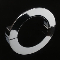 Modern Glossy Semicircular Cabinet Knob Drawer Door Pull Handle128mm, Length: 145mm, Height: 20mm